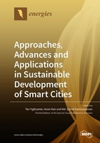 Special issue Approaches, Advances and Applications in Sustainable Development of Smart Cities  book cover image
