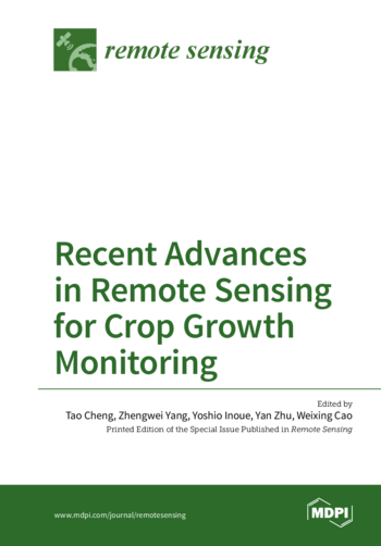 Recent Advances in Remote Sensing for Crop Growth Monitoring