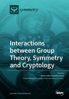 Special issue Interactions between Group Theory, Symmetry and Cryptology book cover image