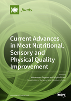 Special issue Current Advances in Meat Nutritional, Sensory and Physical Quality Improvement book cover image