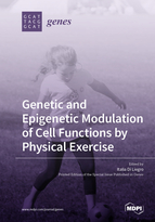 Special issue Genetic and Epigenetic Modulation of Cell Functions by Physical Exercise book cover image