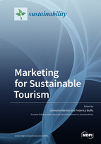 Special issue Marketing for Sustainable Tourism book cover image