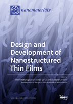 Special issue Design and Development of Nanostructured Thin Films book cover image