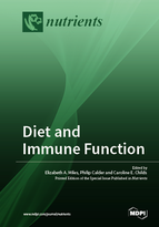 Special issue Diet and Immune Function book cover image