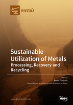 Special issue Sustainable Utilization of Metals - Processing, Recovery and Recycling book cover image