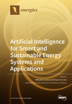 Special issue Artificial Intelligence for Smart and Sustainable Energy Systems and Applications book cover image