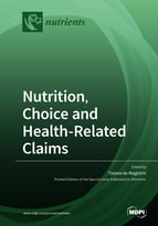 Special issue Nutrition, Choice and Health-Related Claims book cover image
