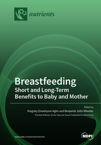Special issue Breastfeeding: Short and Long-Term Benefits to Baby and Mother book cover image