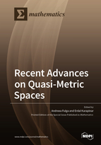 Special issue Recent Advances on Quasi-Metric Spaces book cover image