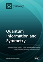 Special issue Quantum Information and Symmetry book cover image