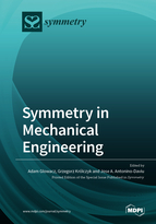Special issue Symmetry in Mechanical Engineering book cover image