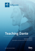 Special issue Teaching Dante book cover image