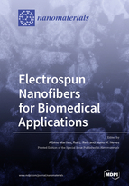 Special issue Electrospun Nanofibers for Biomedical Applications book cover image