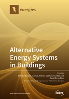 Special issue Alternative Energy Systems in Buildings book cover image