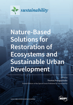 Special issue Nature-Based Solutions for Restoration of Ecosystems and Sustainable Urban Development book cover image