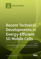 Special issue Recent Technical Developments in Energy-Efficient 5G Mobile Cells book cover image