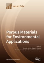 Special issue Porous Materials for Environmental Applications book cover image