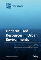 Special issue Underutilised Resources in Urban Environments book cover image