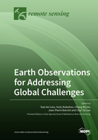 Special issue Earth Observations for Addressing Global Challenges book cover image