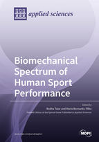 Special issue Biomechanical Spectrum of Human Sport Performance book cover image