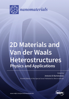 Special issue 2D Materials and Van der Waals Heterostructures: Physics and Applications book cover image