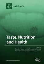 Special issue Taste, Nutrition and Health book cover image