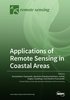 Special issue Applications of Remote Sensing in Coastal Areas book cover image