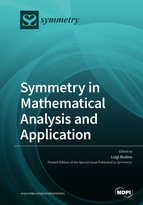 Special issue Symmetry in Mathematical Analysis and Applications book cover image