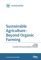 Special issue Sustainable Agriculture–Beyond Organic Farming book cover image