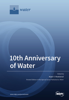 Special issue 10th Anniversary of Water book cover image