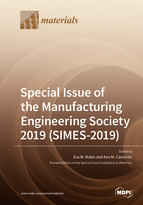 Special issue Special Issue of the Manufacturing Engineering Society 2019 (SIMES-2019) book cover image