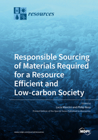 Special issue Responsible Sourcing of Materials Required for a Resource Efficient and Low-carbon Society book cover image
