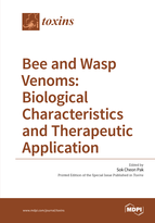 Special issue Bee and Wasp Venoms: Biological Characteristics and Therapeutic Application book cover image