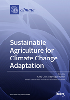 Special issue Sustainable Agriculture for Climate Change Adaptation book cover image