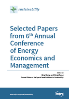 Special issue Selected Papers from 6th Annual Conference of Energy Economics and Management book cover image