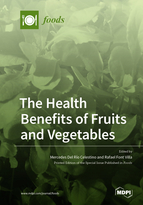 Special issue The Health Benefits of Fruits and Vegetables book cover image
