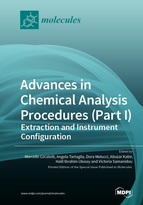 Special issue Advances in Chemical Analysis Procedures (Part I): Extraction and Instrument Configuration book cover image