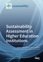 Special issue Sustainability Assessment in Higher Education Institutions book cover image