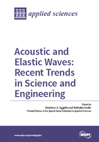 Special issue Acoustic and Elastic Waves: Recent Trends in Science and Engineering book cover image