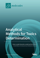 Special issue Analytical Methods for Toxics Determination book cover image