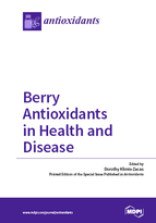 Special issue Berry Antioxidants in Health and Disease book cover image