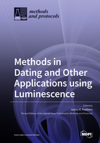 Special issue Methods in Dating and Other Applications using Luminescence book cover image