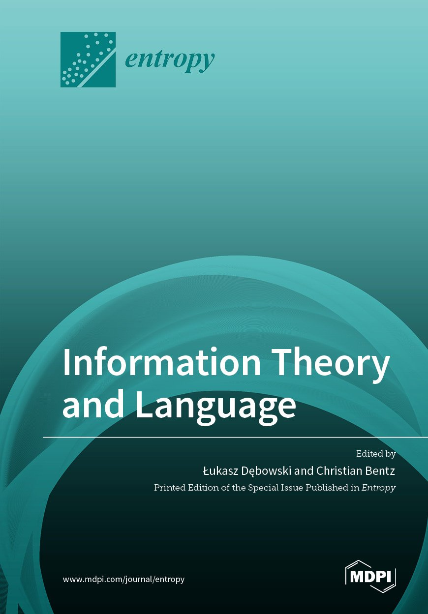 Information Theory and Language