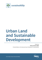 Special issue Urban Land and Sustainable Development book cover image