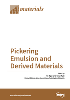 Special issue Pickering Emulsion and Derived Materials book cover image