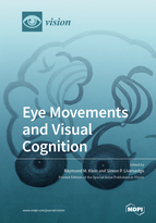 Special issue Eye Movements and Visual Cognition book cover image