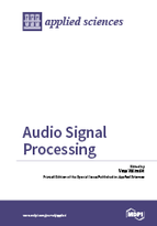 Special issue Audio Signal Processing book cover image