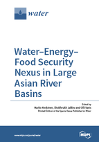 Special issue Water-Energy-Food Nexus in Large Asian River Basins book cover image