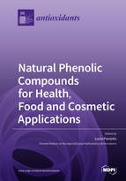 Special issue Natural Phenolic Compounds for Health, Food and Cosmetic Applications book cover image