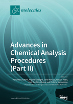 Special issue Advances in Chemical Analysis Procedures (Part II): Statistical and Chemometric Approaches book cover image